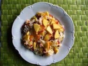 Apfel-Reis