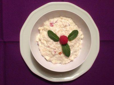 Couscous-Topfencreme