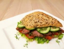 Rindfleischsandwich