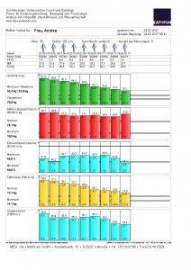 Bioelektrische Impedanz Analyse