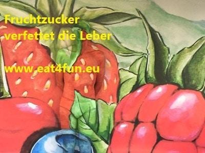Fruchtzucker verfettet die Leber