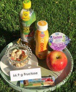 Fruktose viel