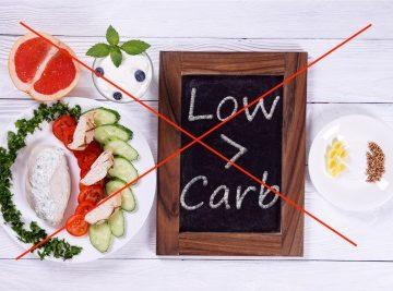 5 gute Gründe, die gegen Low Carb sprechen
